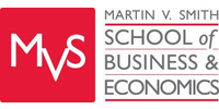 Logo Martin V. Smith School of Business & Economics