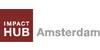 Logo van Impact Hub Amsterdam