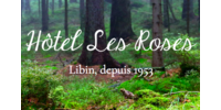 "Logo Hôtel ""Les Roses"""