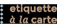 Logo van Etiquette à la carte