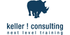 Logo von keller ! consulting | next * level * training