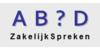 Logo van AB?D ZakelijkSpreken