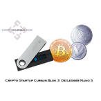 Thumbnail crypto startup cursus blok 3 de ledger nano s