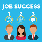 Square job success logo
