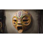 Thumbnail an african tribal mask 3d printing maya mudbox 2309 v1