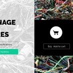 Square using svg filters web design animation 2225 v1